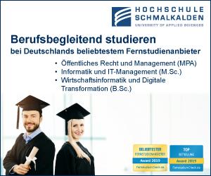 Hochschule Schmalkalden Öffentlicher-Dienst
