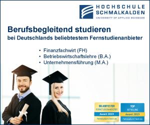 Hochschule Schmalkalden Finance