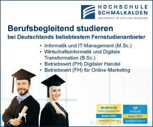 Hochschule Schmalkalden Informationstechnologie