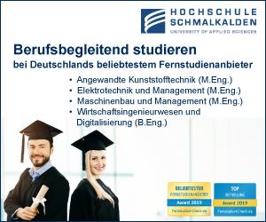 Hochschule Schmalkalden Ingenieure