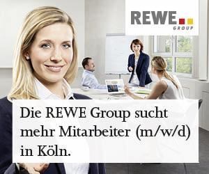 Die REWE Group sucht Mitarbeiter (m/w/d) in Köln