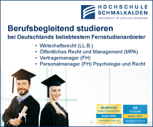 Hochschule Schmalkalden Recht