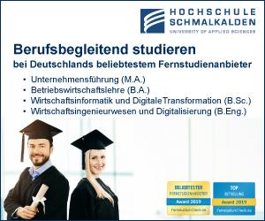 Hochschule Schmalkalden Wirtschaftswissenschaften