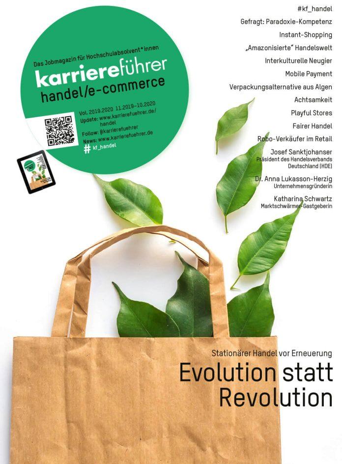 Cover karriereführer handel/ecommerce 2019-2020
