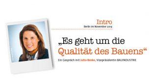 Jutta Beeke, Foto: Bauindustrie