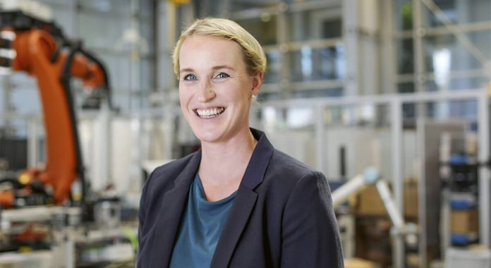 Prof. Dr. Julia C. Arlinghaus, Foto: Fraunhofer IFF