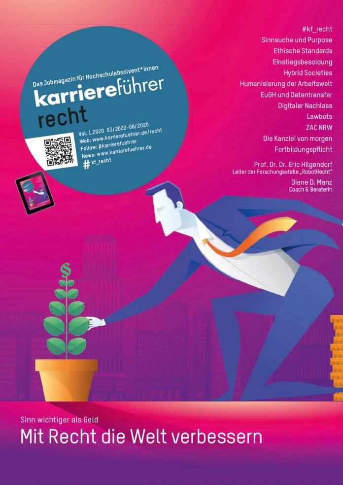 Cover karriereführer recht 1-2020
