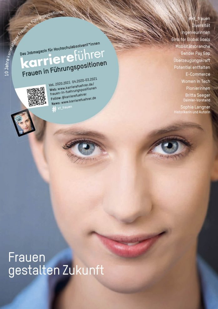 Cover Frauen in Führungspositionen 2020.2021