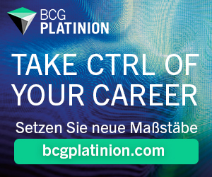 BCG Platinion - Take CTRL of your career