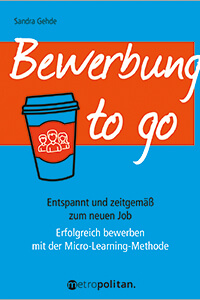 Cover Bewerbung to go