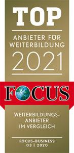 FCB TOP-Anbieter für Weiterbildung 2021
