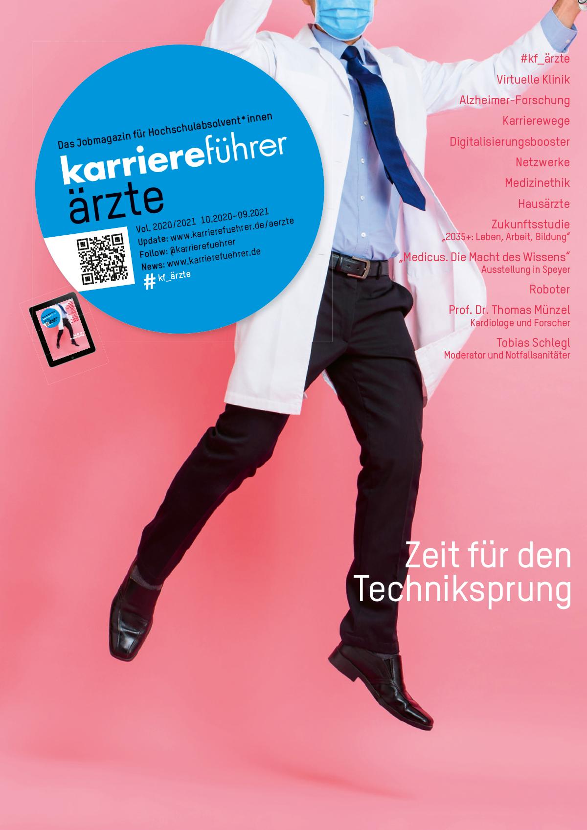 Cover karriereführer ärzte 2020-2021