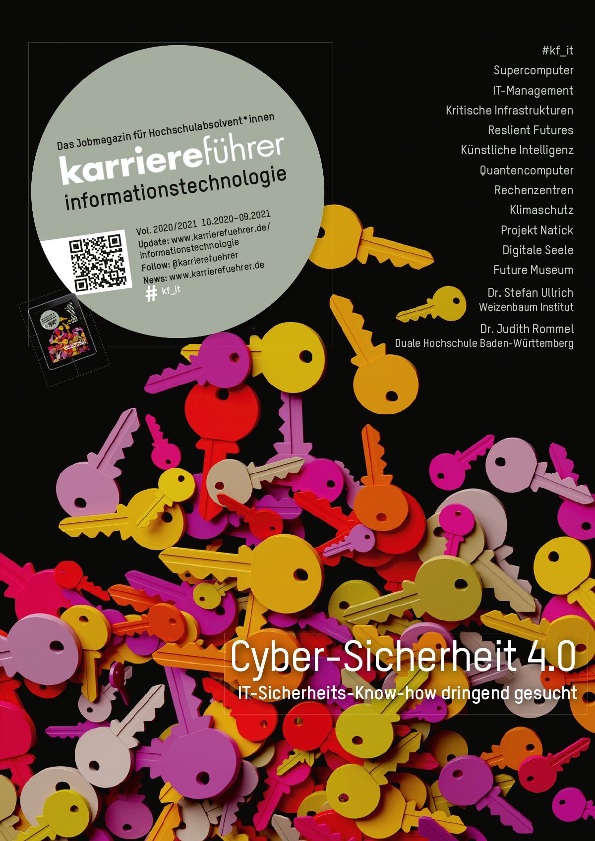 Cover karriereführer informationstechnologie 2020-2021