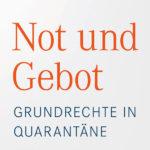 Cover Not und Gebot