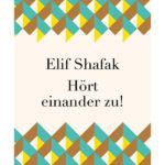 cover Shafak Hört Einander Zu