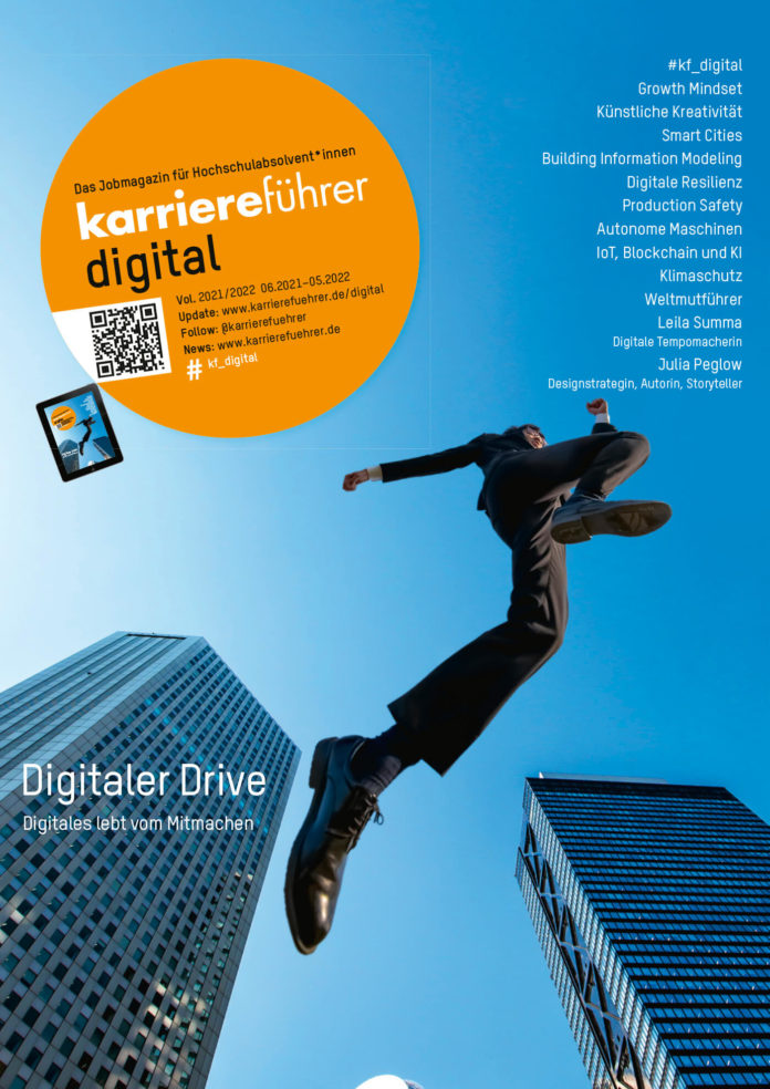 Cover Karriereführer Digital 2021-2022
