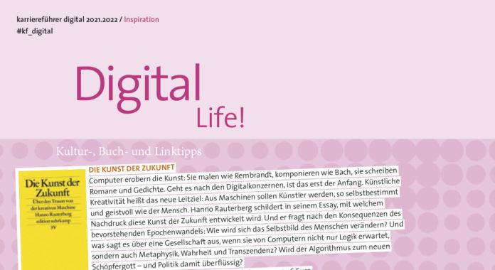 Digital Life Kulturtipps Buechertipps