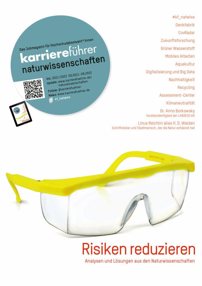 cover karrierefuehrer naturwissenschaften 2021-2022